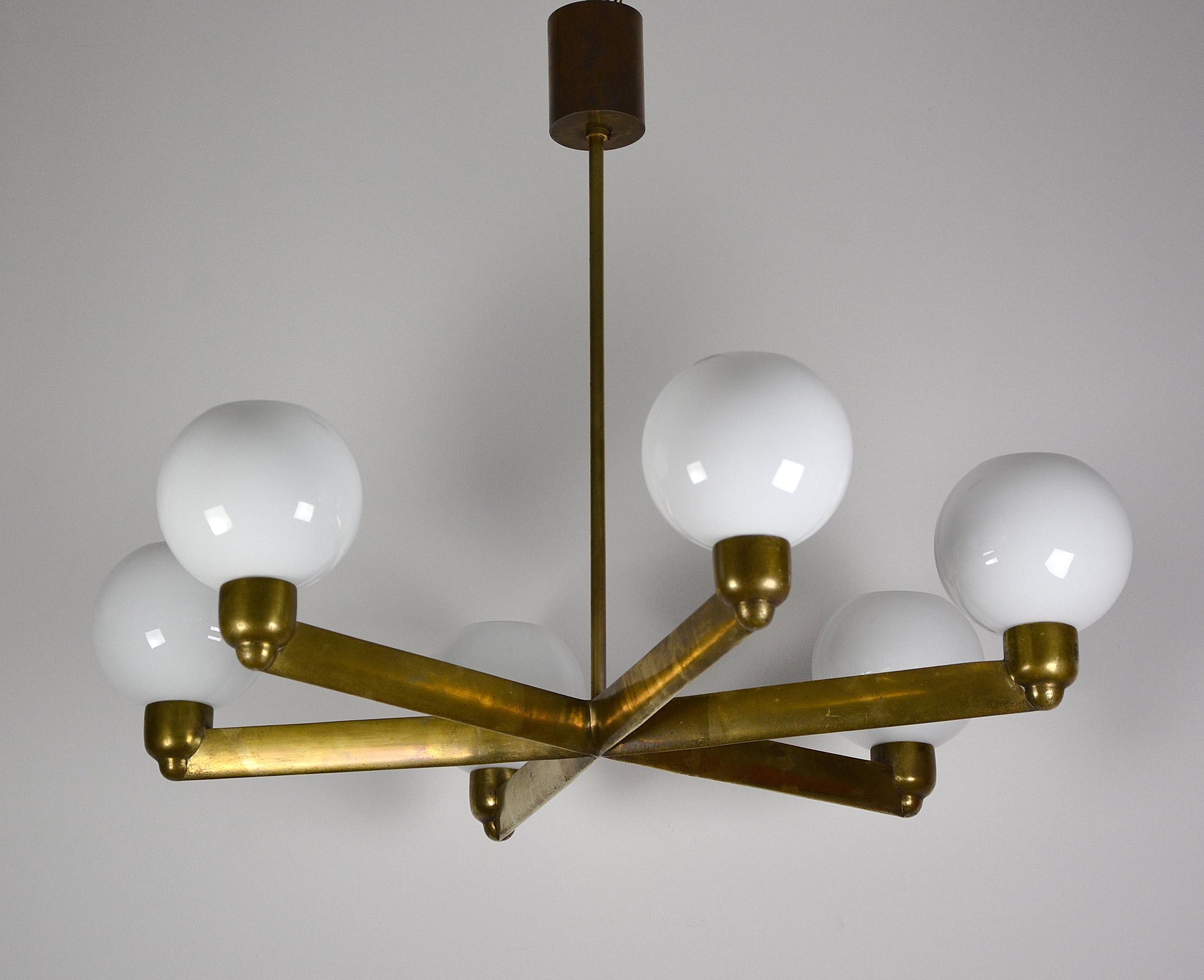 paar bauhaus art deco funktionalismus deckenlampen chrom. Black Bedroom Furniture Sets. Home Design Ideas